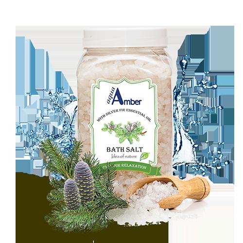 AquaAmber vonios druska su Keniu eteriniu aliejumi