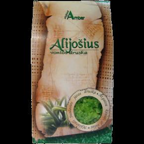 """Natural BATH SALT AQUA AMBER """"Aloe"""", 500g"""