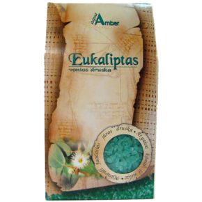 "Natural BATH SALT AQUA AMBER ""Eucalyptus"", 500g"