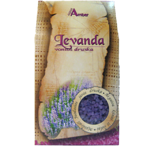 """Natural BATH SALT AQUA AMBER """"Lavender"""", 500g"""