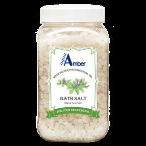 Соль для ванны AQUA AMBER с эфирным маслом пихты, 630г