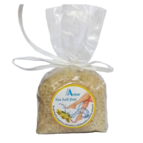 Bath salt for foot Aqua Amber with mustard extract 300g